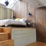 Phòng ngủ có diện tích khiêm tốn không thể thiếu những chiếc giường sau