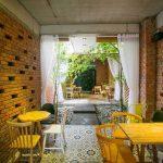 Nhà ở kết hợp kinh doanh cafe với thiết kế dành riêng cho khu đất dài (Đà Nẵng)