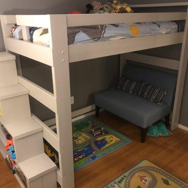 Chiếc giường làm mê hoặc bất cứ bạn nhỏ nào