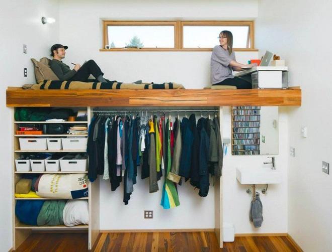Sắp xếp không gian hợp lý giúp căn phòng của bạn đủ công năng mà không bị bức bí