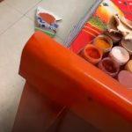 Vui một chút, nghệ thuật sửa đồ nội thất bằng đồ ăn