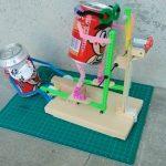 Khéo tay hay làm, chế tạo vỏ lon nước ngọt thành đồ chơi cực sáng tạo