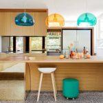 Màu sắc thiết kế hiện đại trong ngôi nhà tại Úc