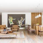 Nội thất gỗ độc đáo trong ngôi nhà tại Brazil