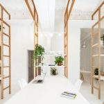Công trình với kiến trúc độc đáo vuông vuông