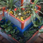Tự tay làm bệ trồng hoa handmade từ xi măng sáng tạo
