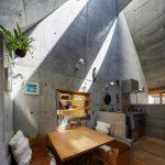 Ngôi nhà nhỏ có vệt nắng xiên ở Tokyo, Nhật Bản
